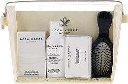 Духи, Парфюмерия, косметика Набор - Acca Kappa (edp/30ml + b/lotion/100ml + soap/50g + hairbrush)