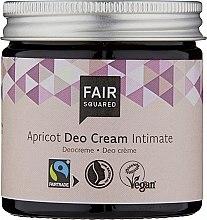 Духи, Парфюмерия, косметика Дезодорирующий интимный крем - Fair Squared Apricot Deo Cream Intimate
