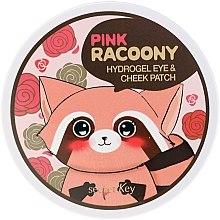 Духи, Парфюмерия, косметика Гидрогелевые патчи для глаз и скул - Secret Key Pink Racoony Hydro-Gel Eye & Cheek Patch