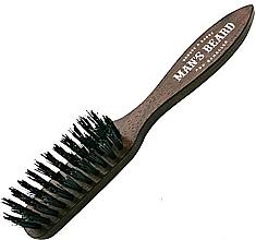 Духи, Парфюмерия, косметика Щетка для бороды и усов с ручкой - Man'S Beard Beard And Mustache Brush