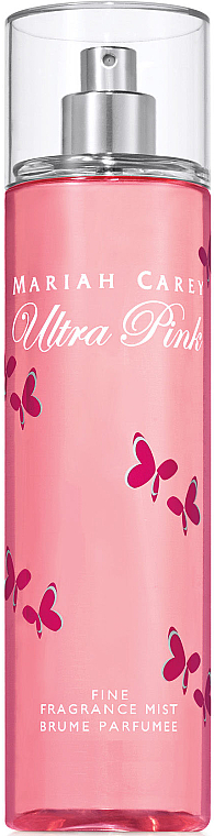 Mariah Carey Ultra Pink - Парфюмированный мист для тела — фото N1