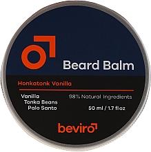 Духи, Парфюмерия, косметика Бальзам для бороды - Beviro Beard Balm Vanilla, Palo Santo, Tonka Boby