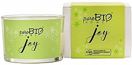 Духи, Парфюмерия, косметика Органическая свеча - PuroBio Home Organic Joy