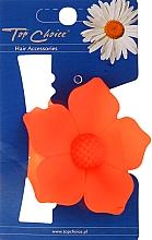 Духи, Парфюмерия, косметика Заколка для волос 24313, оранжевая - Top Choice