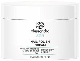 Духи, Парфюмерия, косметика Крем для ногтей - Alessandro International Spa Nail Polish Cream