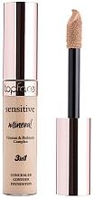 Духи, Парфюмерия, косметика Консилер для лица - TopFace Sensitive Mineral 3 in 1 Concealer