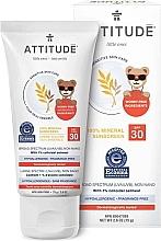 Духи, Парфюмерия, косметика Солнцезащитный крем - Attitude Little Ones Sensitive Skin Sunscreen SPF 30