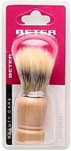 Духи, Парфюмерия, косметика Помазок для бритья с деревянной ручкой - Beter Beauty Care