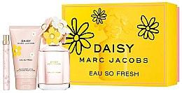 Духи, Парфюмерия, косметика Marc Jacobs Daisy Eau So Fresh - Набор (edt/125ml + edt/10ml + b/lot/150ml)