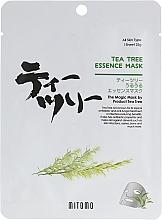 Духи, Парфюмерия, косметика Тканевая маска для лица с маслом чайного дерева - Mitomo Tea Tree Essence Mask