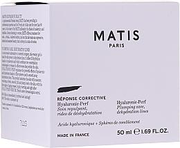 Духи, Парфюмерия, косметика Увлажняющий и наполняющий крем для лица - Matis Hyaluronic-Perf Plumping Care