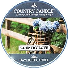 Духи, Парфюмерия, косметика Чайная свеча - Country Candle Country Love
