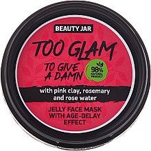 Духи, Парфюмерия, косметика Маска-желе с лифтинг комплектом - Beauty Jar Too Glam To Give A Damn Face Mask