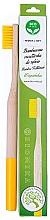 Духи, Парфюмерия, косметика Зубная щетка бамбуковая, мягкая, желтая - Biomika Natural Bamboo Toothbrush