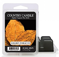 Духи, Парфюмерия, косметика Воск для аромалампы - Country Candle Golden Tobacco Wax Melts