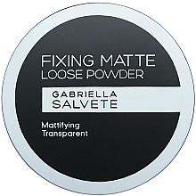 Духи, Парфюмерия, косметика Пудра для лица - Gabriella Salvete Fixing Matte Loose Transparent Powder