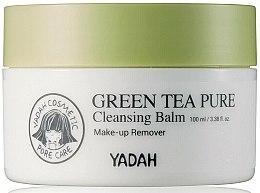 Духи, Парфюмерия, косметика Очищающий бальзам для лица с зелёным чаем - Yadah Green Tea Pure Cleansing Balm