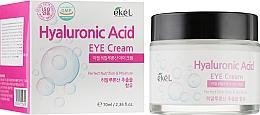 Духи, Парфюмерия, косметика Увлажняющий крем для кожи вокруг глаз, с гиалуроновой кислотой - Ekel Hyaluronic Acid Eye Cream