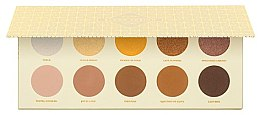 Духи, Парфюмерия, косметика Палетка теней - Zoeva Blanc Fusion Eyeshadow Palette