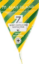 Духи, Парфюмерия, косметика Успокаивающая ночная маска с центеллой - May Island Seven Days Secret Centella Cica Sleeping Pack