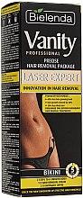 """Духи, Парфюмерия, косметика Набор """"Для точной депиляции бикини"""" - Bielenda Vanity Laser Expert (cr/100ml + balm/2x5g + blade)"""