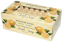 """Духи, Парфюмерия, косметика Мыло-скраб для массажа """"Лимон"""" - Gori 1919 Massage Scrub Soap Lemon"""