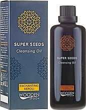 Духи, Парфюмерия, косметика Масло для умывания - Wooden Spoon Super Seeds Enchanting Neroli Cleansing Oil