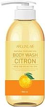Духи, Парфюмерия, косметика Гель для душа с экстрактом цитрусовых - Welcos Around Me Natural Perfume Vita Body Wash Citron