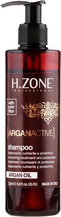 Шампунь для волос с аргановым маслом - H.Zone Argan Active — фото N1
