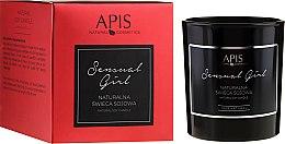 Духи, Парфюмерия, косметика Натуральная соевая свеча - APIS Professional Sensual Girl Soy Candle