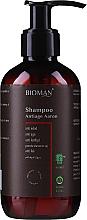 Духи, Парфюмерия, косметика Шампунь антивозрастной - BioMAN Aaron Anti-Age Shampoo