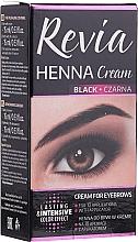 Духи, Парфюмерия, косметика Хна для бровей в креме - Revia Eyebrows Henna
