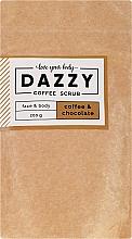 "Духи, Парфюмерия, косметика Кофейный скраб для лица и тела ""Кофе и шоколад"" - Dazzy Coffee Face & Body Scrub Coffee & Chocolate"