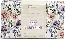 Духи, Парфюмерия, косметика Мыло - IDC Institute Soothing Hand Natural Soap Rose & Lavender