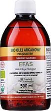 Духи, Парфюмерия, косметика Аргановое масло косметическое, пластиковая бутылка - Efas Argan Oil 100% BIO