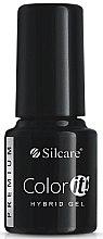 Духи, Парфюмерия, косметика Гель-лак для ногтей - Silcare Color IT Premium Hybrid Gel