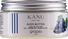 "Духи, Парфюмерия, косметика Масло для тела ""Греческий виноград"" - Kanu Nature Greek Grape Body Butter"