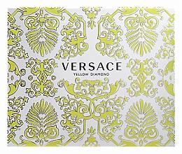 Духи, Парфюмерия, косметика Versace Yellow Diamond - Набор (edt/50ml + b/l50ml + sh/g50ml)