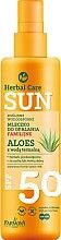 Духи, Парфюмерия, косметика Водостойкое молочко для загара - Farmona Herbal Care Sun SPF 50
