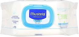 Набор - Mustela Bebe (b/gel/500ml+b/milk/300ml+cr/50ml+wipes/70+acc) — фото N5