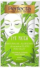 Духи, Парфюмерия, косметика Патчи под глаза - Perfecta Eye Patch Aloe & Vitamins