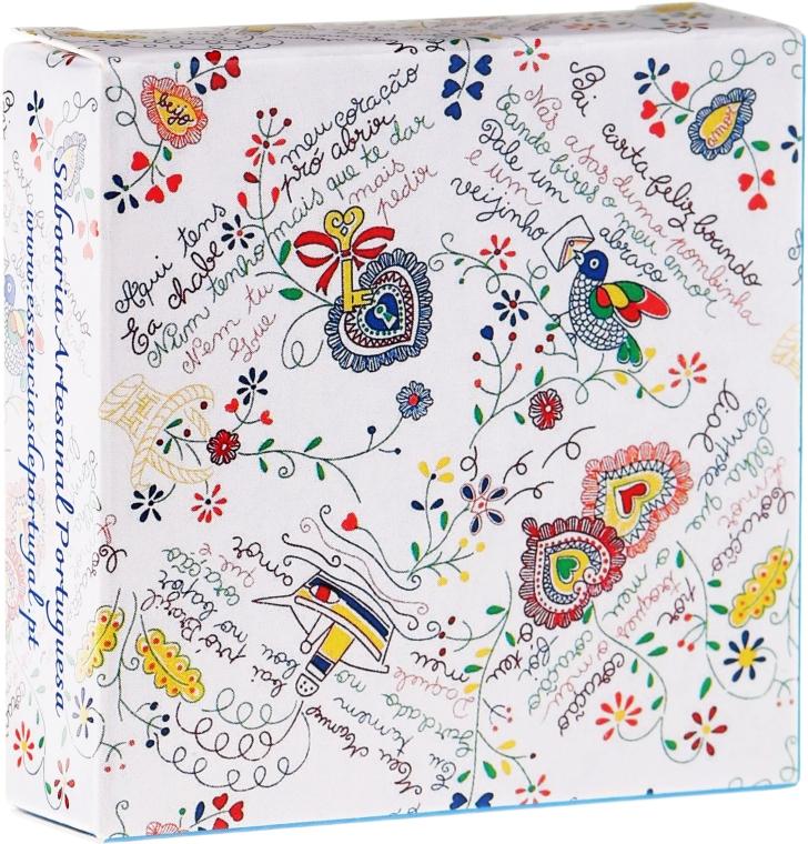 """Натуральное мыло """"Фиалка"""", День влюблённых - Essencias De Portugal Senses Violet Soap — фото N1"""