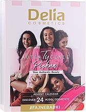 Духи, Парфюмерия, косметика Набор для макияжа - Delia Cosmetics Calendar 2020/2021