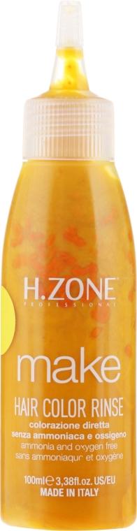 Краска для волос - H.Zone Make Up Hair Color Rinse — фото N2