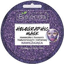 Духи, Парфюмерия, косметика Маска для лица с гиалуроновой кислотой - Bielenda Holographic Mask Peel-Off