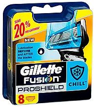 Духи, Парфюмерия, косметика Сменные кассеты для бритья, 8 шт. - Gillette Fusion ProShield Chill