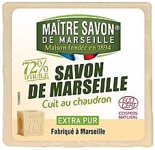 Духи, Парфюмерия, косметика Сертифицированное марсельское мыло - Maitre Savon De Marseille Savon De Marseille Ecocert Extra Pur Soap Bar
