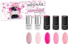 Духи, Парфюмерия, косметика Набор - NeoNail Professional Cherry Blossom Collection Set (nail/polish/3mlx3 + base/3mlx2)