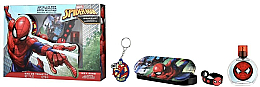 Духи, Парфюмерия, косметика Air-Val International Spiderman - Набор (edt/50ml + pencil/box + bracelet + keychain)