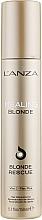 Духи, Парфюмерия, косметика Крем для реконструкции обесцвеченных волос - L'anza Healing Blonde Rescue